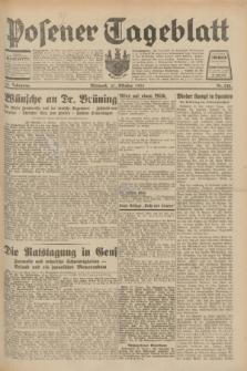 Posener Tageblatt. Jg.70, Nr. 242 (21 Oktober 1931) + dod.