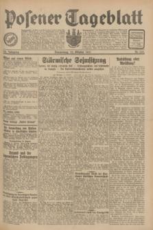 Posener Tageblatt. Jg.70, Nr. 243 (22 Oktober 1931) + dod.