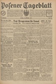 Posener Tageblatt. Jg.70, Nr. 244 (23 Oktober 1931) + dod.