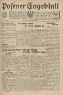 Posener Tageblatt. Jg.70, Nr. 245 (24 Oktober 1931) + dod.
