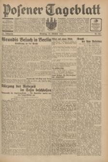 Posener Tageblatt. Jg.70, Nr. 246 (25 Oktober 1931) + dod.