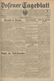 Posener Tageblatt. Jg.70, Nr. 247 (27 Oktober 1931) + dod.