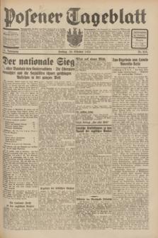 Posener Tageblatt. Jg.70, Nr. 250 (30 Oktober 1931) + dod.