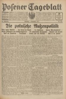 Posener Tageblatt. Jg.70, Nr. 252 (1 November 1931) + dod.