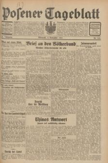 Posener Tageblatt. Jg.70, Nr. 254 (4 November 1931) + dod.