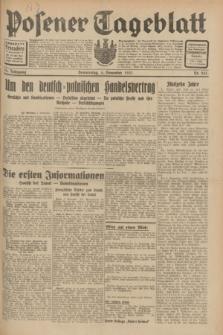 Posener Tageblatt. Jg.70, Nr. 255 (5 November 1931) + dod.