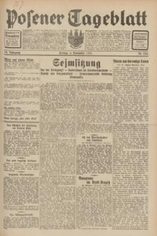 Posener Tageblatt. Jg.70, Nr. 256 (6 November 1931) + dod.