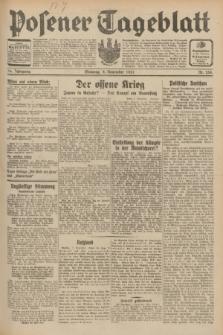 Posener Tageblatt. Jg.70, Nr. 258 (8 November 1931) + dod.