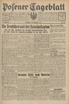 Posener Tageblatt. Jg.70, Nr. 259 (10 November 1931) + dod.