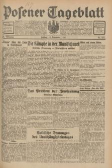 Posener Tageblatt. Jg.70, Nr. 262 (13 November 1931) + dod.