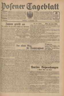 Posener Tageblatt. Jg.70, Nr. 264 (15 November 1931) + dod.