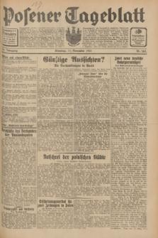 Posener Tageblatt. Jg.70, Nr. 265 (17 November 1931) + dod.