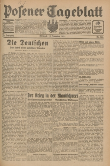 Posener Tageblatt. Jg.70, Nr. 266 (18 November 1931) + dod.