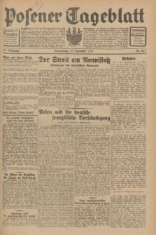Posener Tageblatt. Jg.70, Nr. 267 (19 November 1931) + dod.