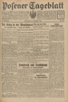 Posener Tageblatt. Jg.70, Nr. 269 (21 November 1931) + dod.
