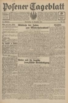 Posener Tageblatt. Jg.70, Nr. 273 (26 November 1931) + dod.
