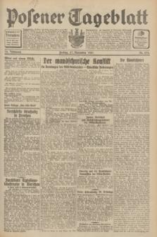 Posener Tageblatt. Jg.70, Nr. 274 (27 November 1931) + dod.