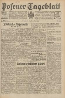 Posener Tageblatt. Jg.70, Nr. 275 (28 November 1931) + dod.