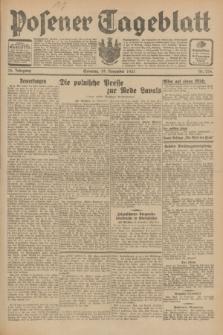 Posener Tageblatt. Jg.70, Nr. 276 (29 November 1931) + dod.