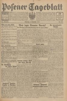 Posener Tageblatt. Jg.70, Nr. 277 (1 Dezember 1931) + dod.