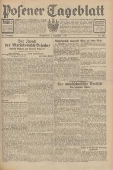 Posener Tageblatt. Jg.70, Nr. 281 (5 Dezember 1931) + dod.