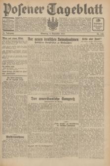 Posener Tageblatt. Jg.70, Nr. 282 (6 Dezember 1931) + dod.