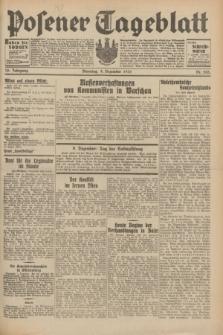 Posener Tageblatt. Jg.70, Nr. 283 (8 Dezember 1931) + dod.