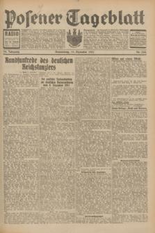 Posener Tageblatt. Jg.70, Nr. 284 (10 Dezember 1931) + dod.