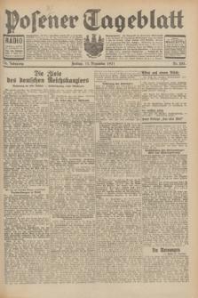 Posener Tageblatt. Jg.70, Nr. 285 (11 Dezember 1931) + dod.