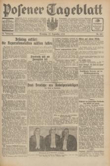 Posener Tageblatt. Jg.70, Nr. 287 (13 Dezember 1931) + dod.