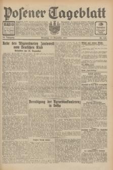 Posener Tageblatt. Jg.70, Nr. 288 (15 Dezember 1931) + dod.