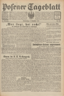 Posener Tageblatt. Jg.70, Nr. 290 (17 Dezember 1931) + dod.