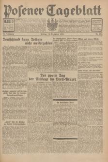 Posener Tageblatt. Jg.70, Nr. 291 (18 Dezember 1931) + dod.