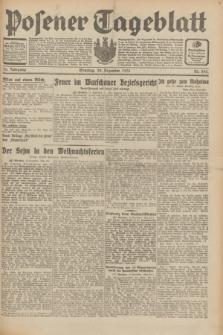 Posener Tageblatt. Jg.70, Nr. 293 (20 Dezember 1931) + dod.