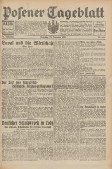 Posener Tageblatt. Jg.70, Nr. 294 (22 Dezember 1931) + dod.