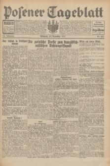 Posener Tageblatt. Jg.70, Nr. 295 (23 Dezember 1931) + dod.