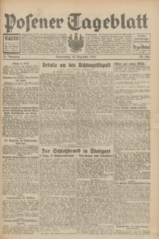 Posener Tageblatt. Jg.70, Nr. 296 (24 Dezember 1931) + dod.