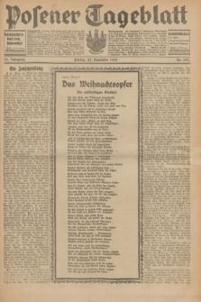 Posener Tageblatt. Jg.70, Nr. 297 (25 Dezember 1931) + dod.