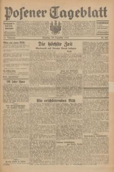 Posener Tageblatt. Jg.70, Nr. 298 (29 Dezember 1931) + dod.