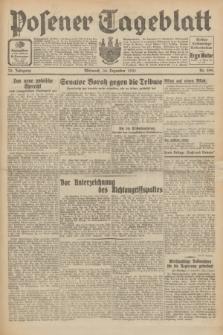 Posener Tageblatt. Jg.70, Nr. 299 (30 Dezember 1931) + dod.