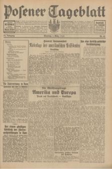 Posener Tageblatt. Jg.70, Nr. 49 (1 März 1931) [skonfiskowany]