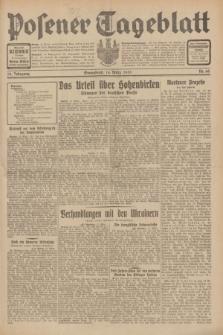 Posener Tageblatt. Jg.70, Nr. 60 (14 März 1931) [skonfiskowany]