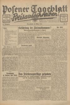 Posener Tageblatt. Jg.70, Nr. 72 (28 März 1931) [skonfiskowany]