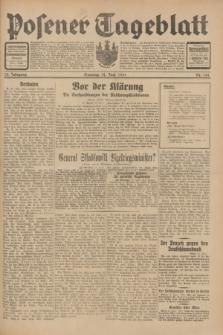 Posener Tageblatt. Jg.70, Nr. 134 (14 Juni 1931) [skonfiskowany]
