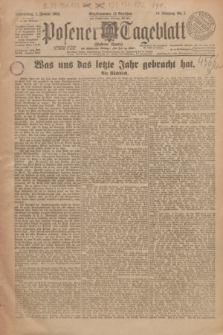Posener Tageblatt (Posener Warte). Jg.64, Nr. 1 (1 Januar 1925) + dod.