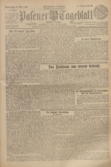 Posener Tageblatt (Posener Warte). Jg.64, Nr. 59 (12 März 1925) + dod.