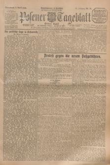Posener Tageblatt (Posener Warte). Jg.64, Nr. 79 (4 April 1925) + dod.