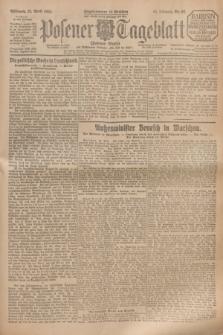 Posener Tageblatt (Posener Warte). Jg.64, Nr. 92 (22 April 1925) + dod.