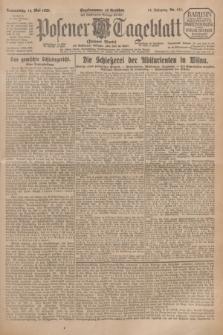 Posener Tageblatt (Posener Warte). Jg.64, Nr. 111 (14 Mai 1925) + dod.
