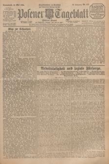 Posener Tageblatt (Posener Warte). Jg.64, Nr. 113 (16 Mai 1925) + dod.